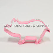 Pink Pig Cookie Cutter