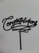 Congratulations Black Script Topper