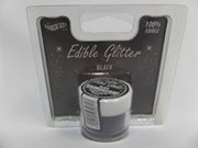 Rainbow Dust Edible Glitter BLACK