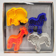 African Safari Plunger Cutter Set 4
