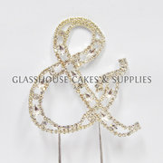 Ampersand & Curvy Bling Topper