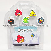 Angry Birds 5 Pick Candle Set