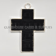 Black Acrylic Cross – Small