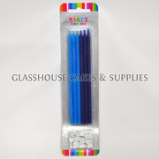 Dark and Light Blue Long Party Candles