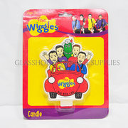 Wiggles Big Red Car candle