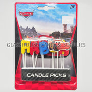 Cars Happy Birthday Candle Picks
