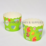 Easter Egg Design Cupcake Baking Cups – Large