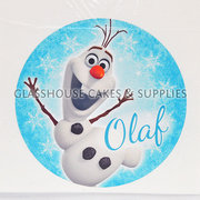 Olaf Cake Edible Images