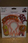 Cake Girls Label Cutter Set