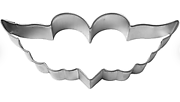 Heart with Wings - Cookie Cutter