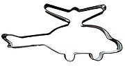 Helicopter - Cookie Cutter