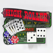 High Roller Casino Topper Set
