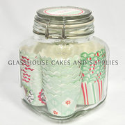 Mini Christmas Patty Pans with Jar – Mint