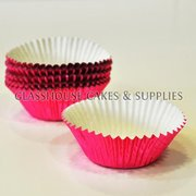 50 Metallic Pink Patty Cups