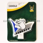 Bulldogs NRL Candle
