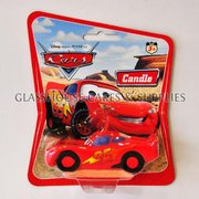 Cars 3D Toy Candle