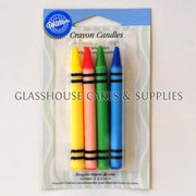 Wilton 8 Crayon Candles