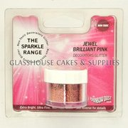 Jewel Brilliant Pink Sparkle NON TOXIC