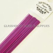 Bright Pink Hamilworth Paper Covered Wires