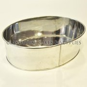 Oval Baking Tin 7x5in