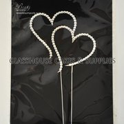 Bay Diamante Double Heart