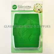 Wilton Fondant Cut and Press Rose Leaf