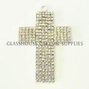 Blingy Cross Cake Topper / Pendant