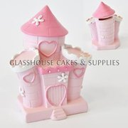 Pink Castle Ceramic Topper