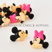 Mickey and Minne Mouse Rings