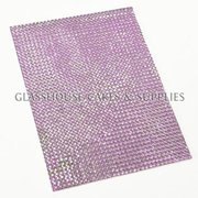 Light Purple Bling Sticker
