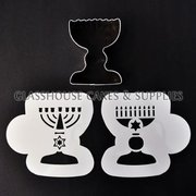 Jewish Candles Cutter+Stencil Set