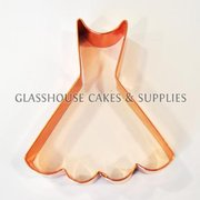 Copper Cookie Cutter - Dress
