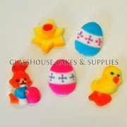 Edible Icing Easter Toppers