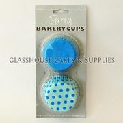 Party Bakery Cups - Blue