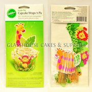 Wilton Wraps & Pix - Jungle Pals