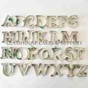 Uppercase Letter Cutter Set by Ximena