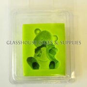Furry Teddy Bear Silicone Mold