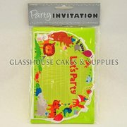 Happy Animals Party Invitations