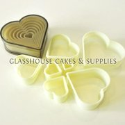 Plastic Heart Cutter Set