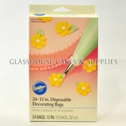 Wilton 24 Dispisable Decorating Bags