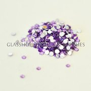 Light Violet Round Bling