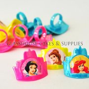 Disney Princess 12 Party Rings