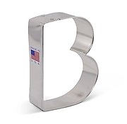Letter 'B' - Cookie Cutter