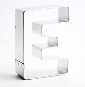 Letter 'E' - Cookie Cutter