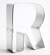 Letter 'R' - Cookie Cutters