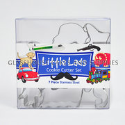 Little Lads Cookie Cutter Set SS
