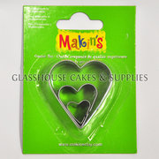 3 Heart Makins Cutters
