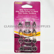 Mini Shapes Metal Cutters
