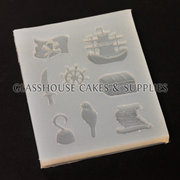 Pirate Ship Themed Mini Molds