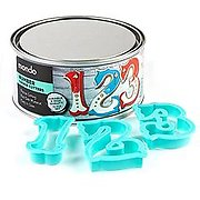 Mondo Number Cookie Cutters 10pcs
